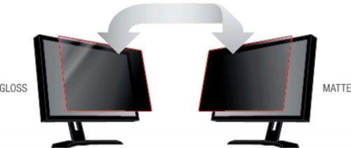3M Black Privacy Filter For Desktops 22in Widescreen 16:10 PF22.0W