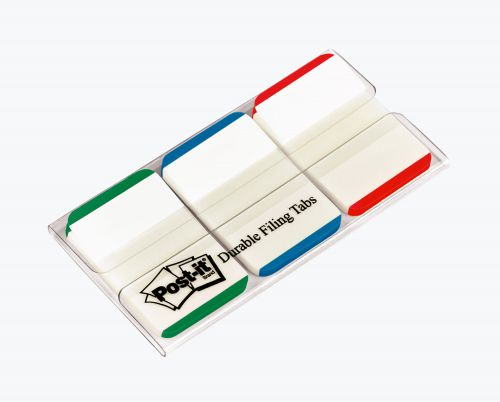 Post-it Strong Index Coloured Tips Red/Green/Blue (Pack of 66) 686L-GBR