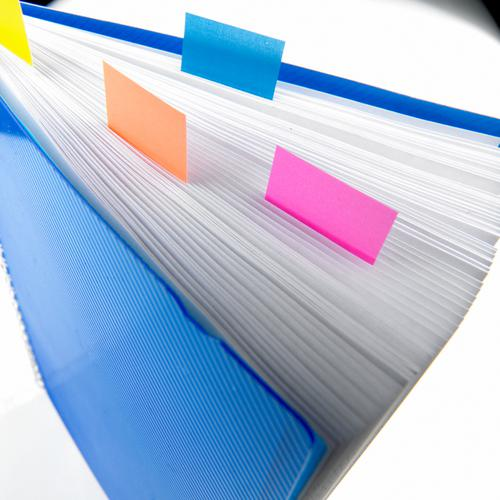 Post-it Index Tabs 25mm Purple (Pack of 600) 680-8