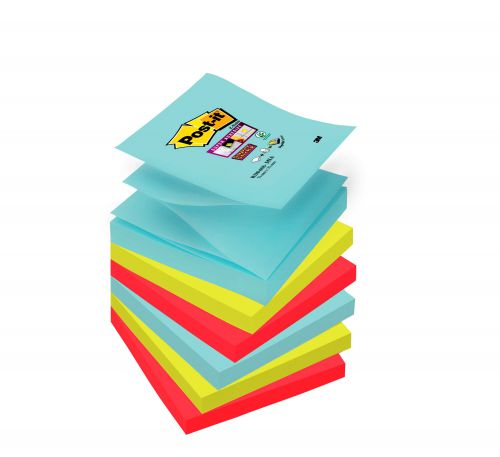 Post-It Super Sticky Z-Notes Miami 76x76mm PK6
