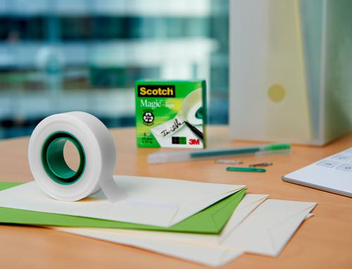 Scotch Magic Tape 810 Solvent-Free 19mmx66m Transparent 8101966