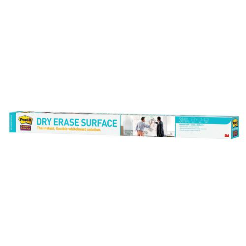Post-it Super Sticky Dry Erase Film Roll 914x1219mm White DEF4X3-EU