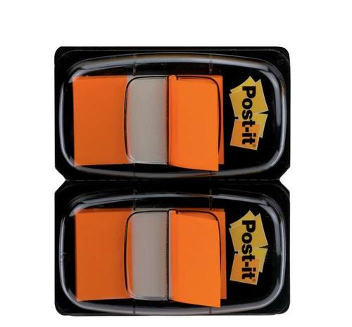 Post-it Index Tabs Dispenser with Orange Tabs (Pack of 2) 680-O2EU