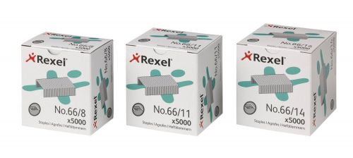 Rexel 66 Staples 8mm Ref 06065 [Pack 5000]