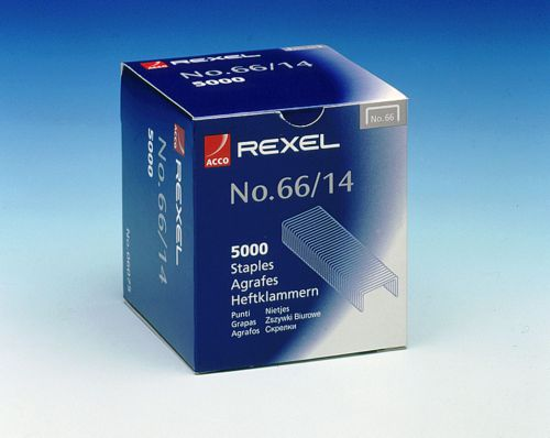 Rexel No. 66 Staples 14mm (Pack of 5000) 06075