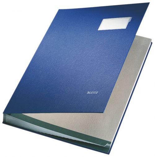 Leitz Signature Book. 20 dividers. Blue