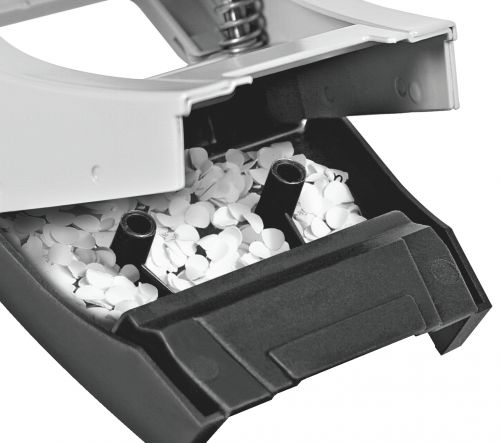 Leitz 2 Hole Punch 30 Sheet Black 50080095 by ACCO Brands, LZ500895