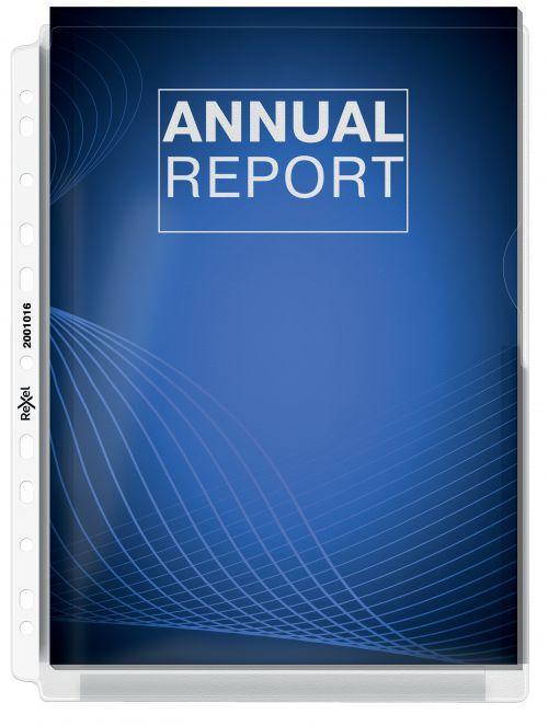 Rexel Nyrex Premium Expanding Full Size Pockets A4 PK5
