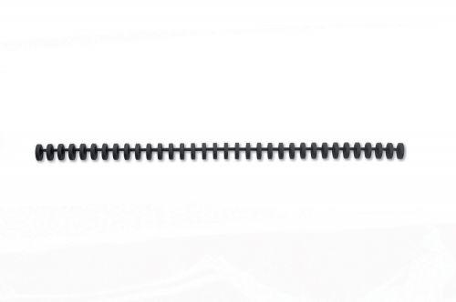 GBC ClickBind Binding Spines, 16mm, 145 Sheet Capacity, A4, 34 Ring, Black (Box 50)