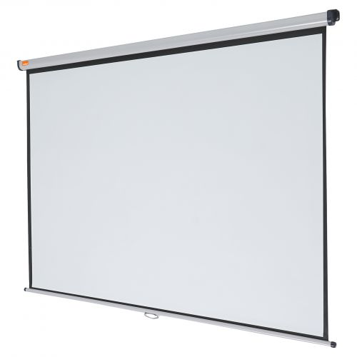Nobo Projection Screen Wall Mounted 2000x1513mm 1902393 Wall/Ceiling Mounted Screens NB25026