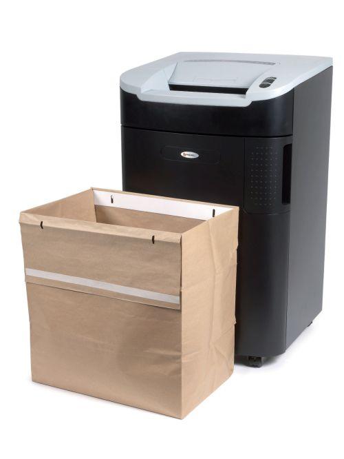 Rexel Recyclable Shredder Waste Sacks, 115L Capacity, For Rexel Mercury 115L Shredder (Pack 50)