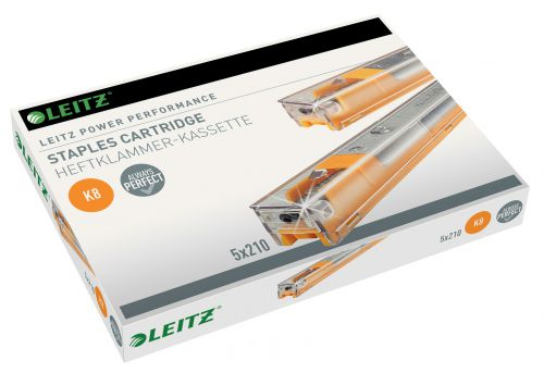 Leitz Power Performance K8 Cartridge Perfect stapling results for up to 40 sheets. Yellow (1,050)
