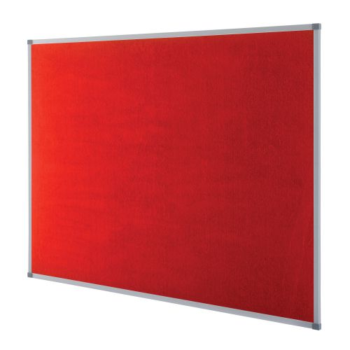 Nobo Classic Red Felt Noticeboard 900x600mm 1902259 NB19704