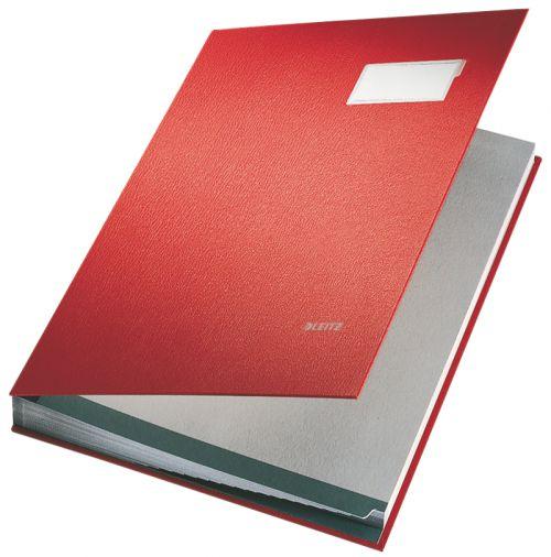 Leitz Signature Book. 20 dividers. Red