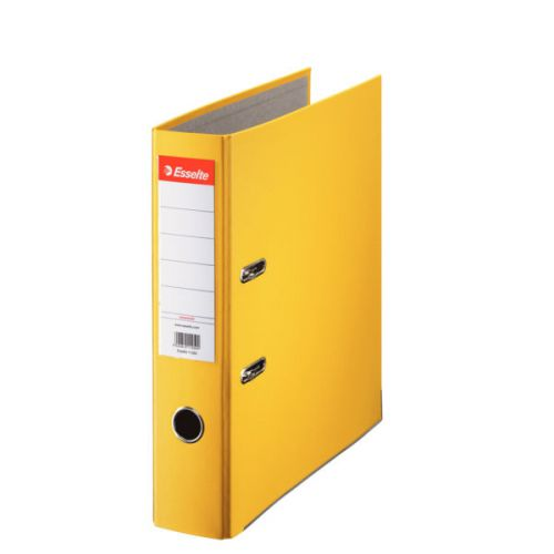 Esselte Essentials Lever Arch File PP A4, 75 mm, Yellow