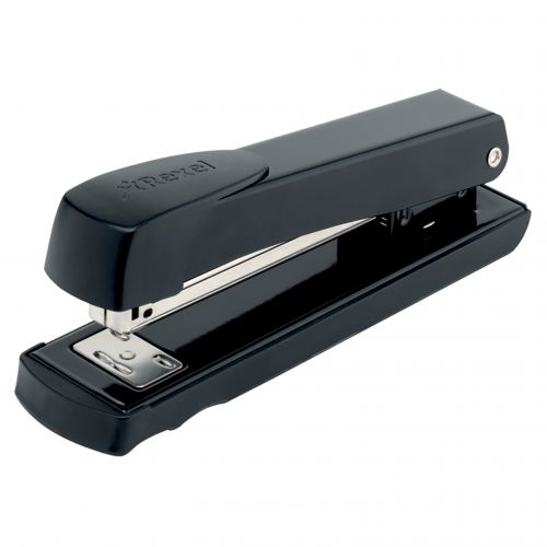 Rexel Aquarius Full Strip Stapler Black (Staples up to 20 sheets of 80gsm paper) 2100016