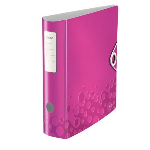 Leitz 180° Active WOW Lever Arch File. A4. 75mm. Pink.