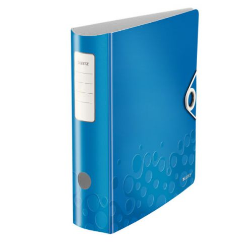 Leitz 180° Active WOW Lever Arch File. A4. 75mm. Blue.