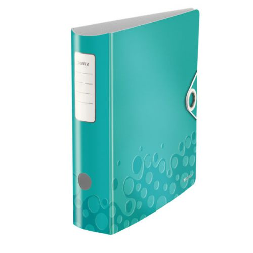 Leitz 180° Active WOW Lever Arch File. A4. 75mm. Ice Blue.