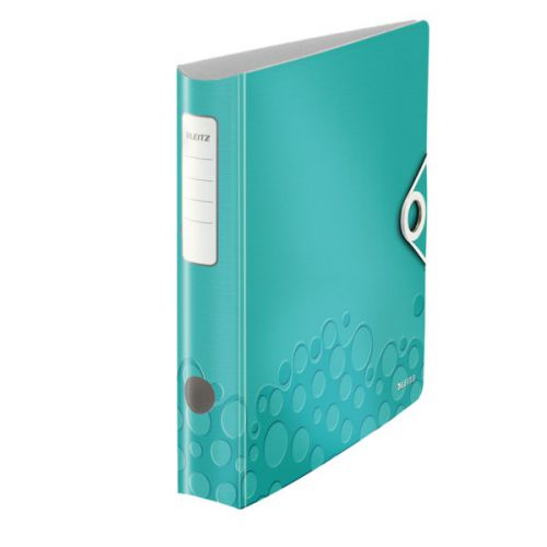 Leitz 180° Active WOW Lever Arch File. A4. 50mm. Ice Blue.