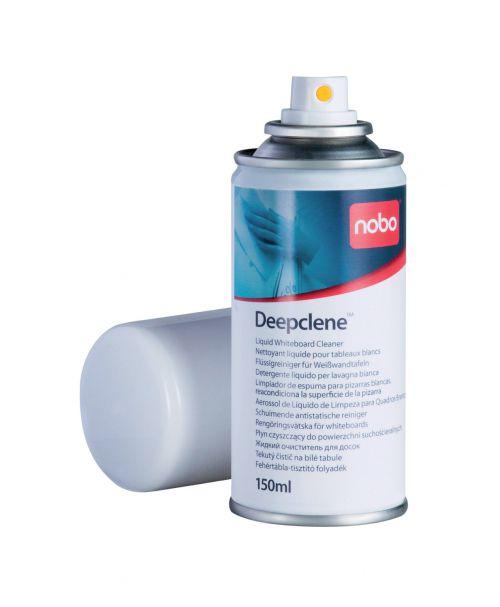Nobo Deepclene Whiteboard Cleaning Fluid Spray 150ml Ref 34533943