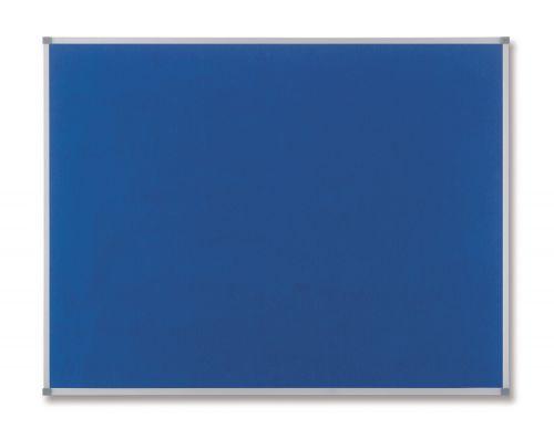 Nobo 900 x 600mm Classic Felt Noticeboard Blue