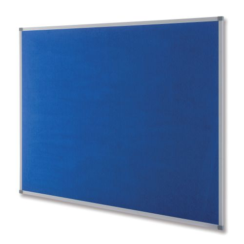 Nobo Classic Blue Felt Noticeboard 900x600mm 1900915 NB11213