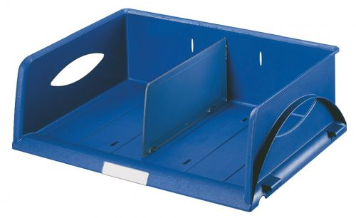 Leitz Sorty Standard Letter Tray W370xD272xH90mm - Blue - Outer carton of 4