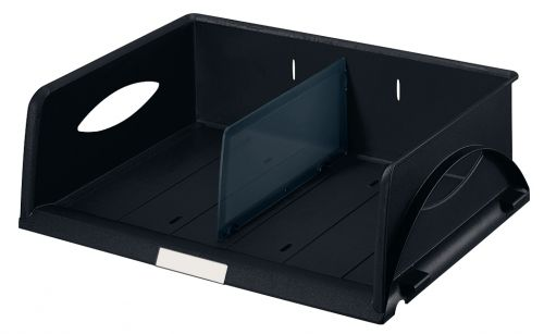 Leitz Sorty Standard Letter Tray W370xD272xH90mm - Black - Outer carton of 4