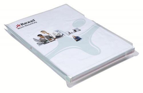 Rexel Nyrex Folder Expanding Gusset 25mm A4 2001015 (PK10)