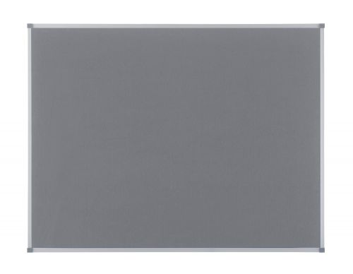 Nobo 900 x 600mm Classic Felt Noticeboard Grey