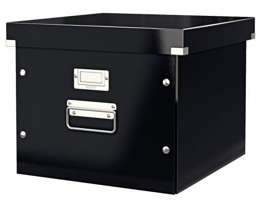 Leitz Click & Store Suspension File Box, A4, Black