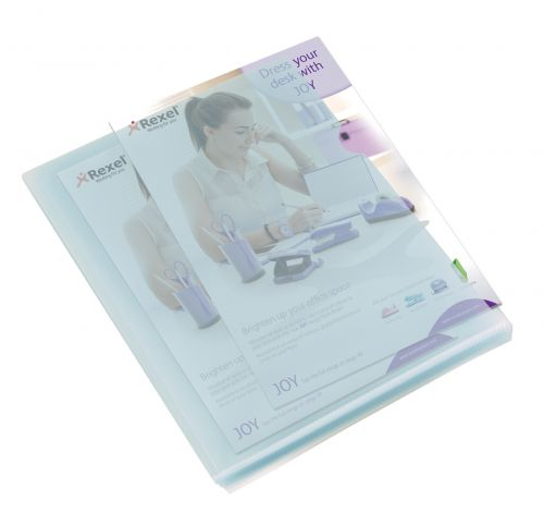 Rexel Budget Cut Flush Folder A4 Clear (Pack of 100) 12182