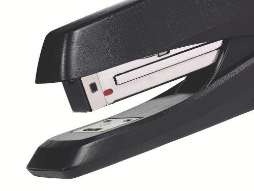 Rexel Ecodesk Half Strip Stapler Plastic 20 Sheet Black 2100029