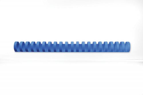 GBC CombBind Binding Combs, 22mm, 195 Sheet Capacity, A4, 21 Ring, Blue (Pack of 100)
