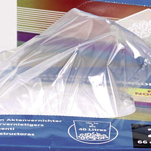 Rexel AS3000 Plastic Shredder Waste Sacks 175L (Pack of 100) 40095