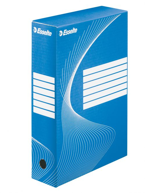 Esselte Standard Archiving Box, 80mm - Blue