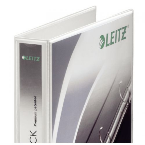 Leitz Panorama 4-Ring Presentation Binder 50mm White 42040-00-1 ES48613