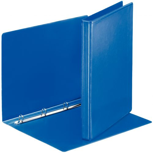 Premium Presentation Binder A4 4 D-Ring 15mm Capacity Blue