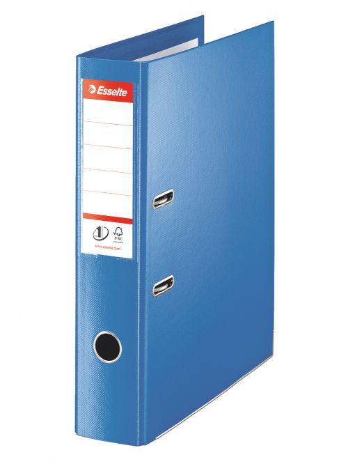 Esselte No.1 VIVIDA Lever Arch File 70mm Foolscap Blue - Outer carton of 10
