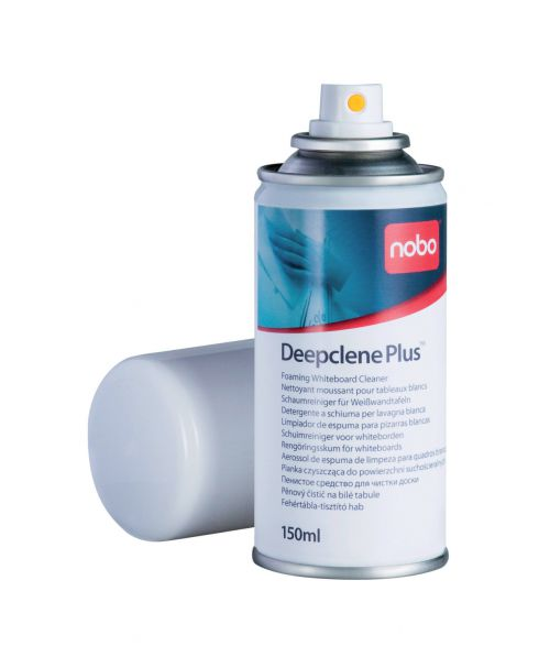 Nobo Deepclene Plus Whiteboard Cleaner Foam 150ml 34538408