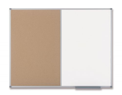 Nobo Classic Combi Board Cork&Drywipe 900x1200mm 1901588