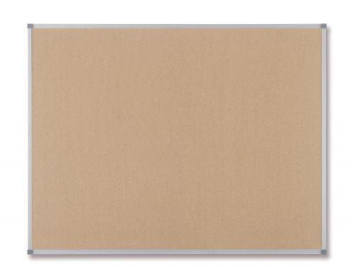 Nobo Classic Cork Board 1200x1800mm Aluminium Frame