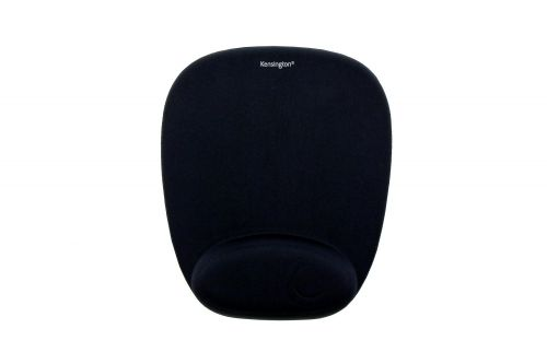 Kensington Mouse Pad with Wrist Rest Foam Black 62384