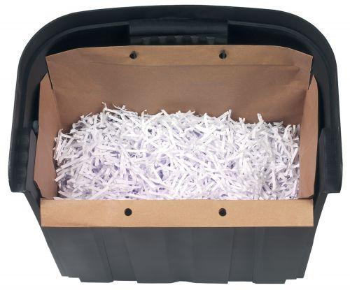 Rexel Recyclable Shredder Waste Sacks, 30L Capacity, For Rexel Mercury 30L Shredder (Pack 20)