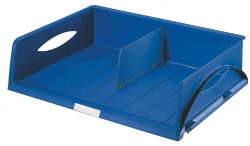 Leitz Sorty Jumbo Letter Tray (W x D x H) 470 x 355 x 90 mm - Blue - Outer carton of 6