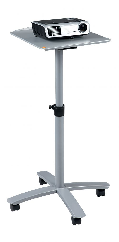 Nobo Multimedia Projection Trolley - Single Platform