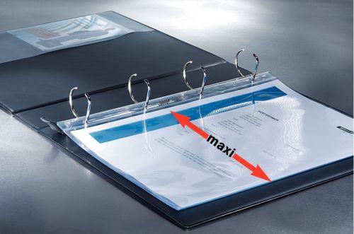 Leitz Panorama 4-Ring Presentation Binder 25mm White 42010-00-1 ES48603