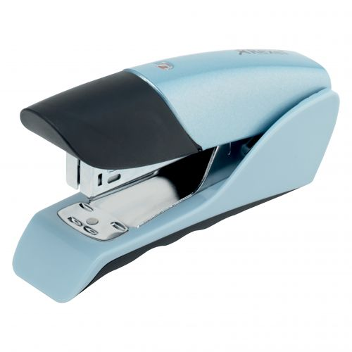 Rexel Gazelle Half Strip Stapler Silver/Black 2100790