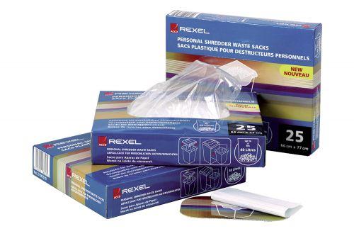 Rexel Polypropylene Shredder Bags 115 Litre AS1000 (100) 40070